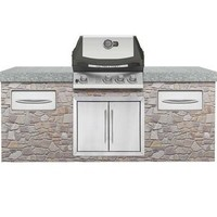 "Napoleon BIU405RBNSS-3 Natural Gas / Stainless Steel 27"" Ultra Chef Natural Gas Built-In Grill Head"