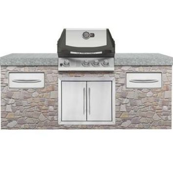 """Napoleon BIU405RBNSS-3 Natural Gas / Stainless Steel 27"""" Ultra Chef Natural Gas Built-In Grill Head"""