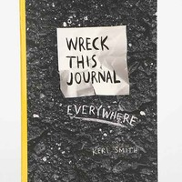 Wreck This Journal Everywhere Travel-Size Edition By Keri Smith