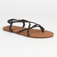 Billabong Crossing Over Womens Sandals Black  In Sizes