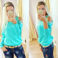 3 Color Tracksuit Hoodies Spring Autumn Knitted Sweatshirt Casual Pullover Sweatshirt = 1931915140