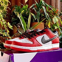 """Nike Dunk SB Low """"Chicago"""" all-match casual low-top sneakers Sshoes"""
