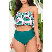 Green Bay Two Piece Swimsuit
