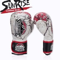 Sunrise boxing gloves female sports glove thick ufc kick boxing glove for sale