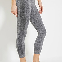 Heathered Athletic Capri Leggings
