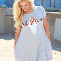 Gypsy Soul T-Shirt Dress