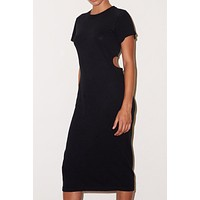 LNA Mayer Cut-Out Tee Dress