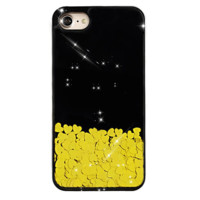 Gold Chrome Hearts iPhone Case