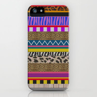 NEWWAVE iPhone Case by Vasare Nar | Society6
