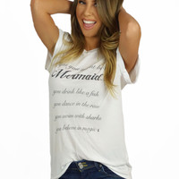 Royal Rabbit Signs You Are A Mermaid Top