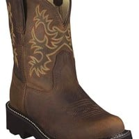 Ariat Fatbaby Distressed Cowgirl Boots - Round Toe - Sheplers