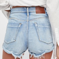 Free People Lovers Denim Shorts