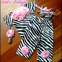 SALE Today...Adorable baby girl take home outfit...newborn outfit...baby shower gift.