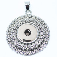 New Fashion Metal Snaps Button pendents for snaps pendents Ginger Snaps button jewelry GS0203001
