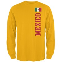 World Cup Mexico Mens Long Sleeve T Shirt