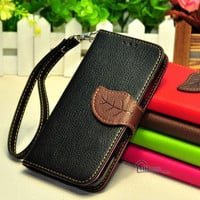 Leather iPhone 6 Case, Leather Retro iPhone 5s wallet case, Tree iPhone 5 Case, iphone 4/4s case, samsung galaxy s5 Case, Galaxy Note 3