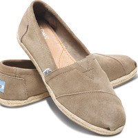 TAUPE SUEDE WOMEN'S CLASSICS