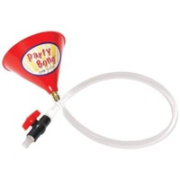 """Party BongTM Large Single Beer Bong Funnel w/ Valve and 40"""" Tube"""