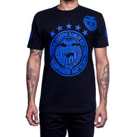 Royal Blue Foamposite Fed Reserve Shirt