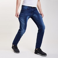 Plus Size Stretch Casual Jeans [6541369475]