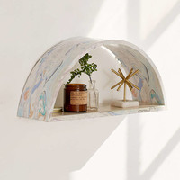 Marbled Arc Shelf - Urban Outfitters