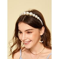 Faux Pear Headband 1pc