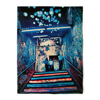 """Louis & Janis Delsarte """"Electric Circus Staircase"""" poster, c.1970. Graphic design education by Reinhold Visuals"""