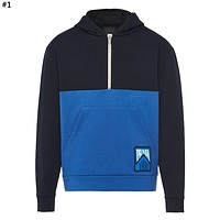 PRADA 2019 new color zipper hooded sweater #1