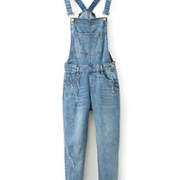 Girl's Denim Hole Jumpsuit Overalls Jeans Long Pants Playsuit Rompers  Autumn Women's Tight Slim Trousers Plus size XL