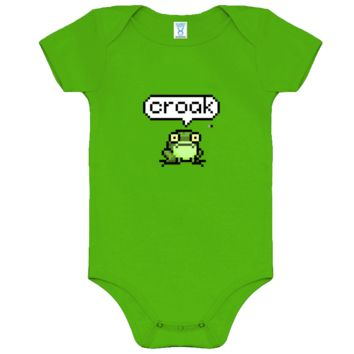 What Does the Pixel Frog Say? Onesuit