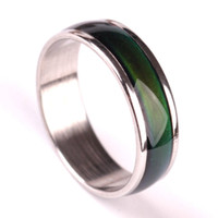 European Vintage Creative Emotion Mood Ring