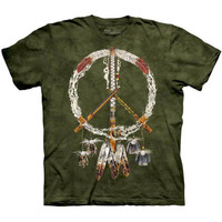 PEACE PIPES The Mountain Native American Indian Sign Tribal T-Shirt S-3XL NEW