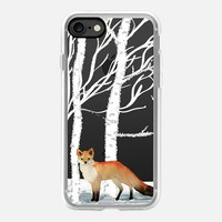 MR. WINTER FOX by Monika Strigel iPhone 7 Hülle by Monika Strigel | Casetify
