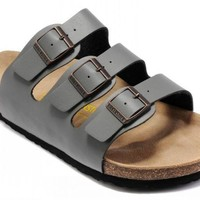 Birkenstock Florida Sandals Grey