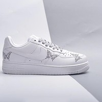 "Nike Air Force 1 ""Butterfly"" low-top flat sneakers shoes"