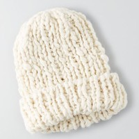 AEO Women's Chunky Cable Knit Beanie