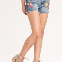 Walk In The Park Mid-Rise Shorts