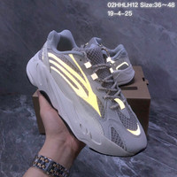 HCXX 19July 174 Adidas Yeezy 700 Boost Retro 3M Reflective Fashion Sneaker