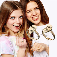Partners in Crime Set Rings
