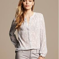 Floral Scroll Blouse