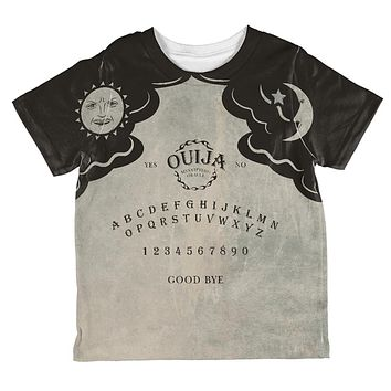 Halloween Ouija Board Costume All Over Toddler T Shirt