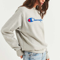 Champion Reverse Weave Center Script Sweatshirt | Urban Outfitters