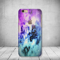 Galaxy iPhone 6 Case Transparent Clear iPhone 6 Case Clear iPhone 6 Case iPhone SE Case iPhone 6s Case Soft Silicone iPhone Case No: 90