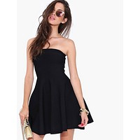 Women Summer Strapless Dress