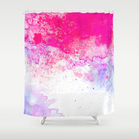 Summer Song #society6 Shower Curtain by 83oranges.com