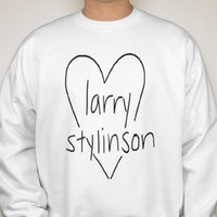Larry Stylinson One Direction Sweatshirt