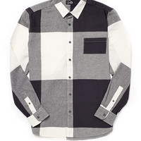 Cheap Monday Shirt in Check Flannel