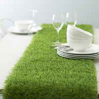 Artificial Grass Table Runner