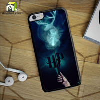 harry potter stag patronus iPhone 6S Plus case by Avallen