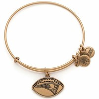 Women's Alex and Ani 'NFL - New England Patriots' Adjustable Wire Bracelet - Russian